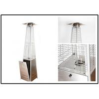 China Pyramid Outdoor Standing Propane Heater , Patio Floor Heater CE Certification wholesale
