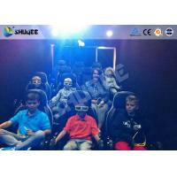 China Children 7D / 12D / 5D Movie Theater With Simulators Spray Snow Bubble Wind wholesale