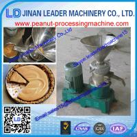 China 400KG/H 304 Stainless Steel Peanut Butter Machine With Cooling System Uesd in Home wholesale