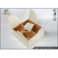 China Handmade Cardboard Gift Boxes Convenient Packaging Sub Box With Compartments wholesale