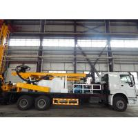 Quality Truck Mounted Full Hydraulic Water Well Drilling Machine With Cummins Engine for sale