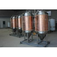 China 200L 500L cone fermenter, with dimple cooling jackets, insulated brewing fermenting tanks wholesale