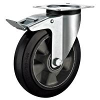 China Heavy Duty Institutional Industrial Caster Wheels With Total Lock Industrial 200mm wholesale