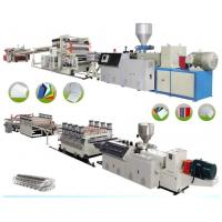 China PVC Sheet Board Plastic Extrusion Machine Advertising Materials 1220mm Width wholesale