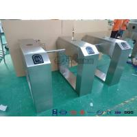 Quality Pedestrian Turnstile Gate With ID/IC Reader Access Control Time Attendence System for sale