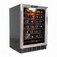 China 58 Bottles Capacity Single Zone Wine Cellar, Built-in or Free-standing wholesale