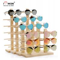 China Amazing Clients Wooden Sunglasses Display Stand Counter Top Advertising Equipment wholesale