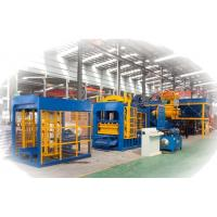 China High Strength Concrete Block Making Machine for Solid / Hollow Paving Brick wholesale