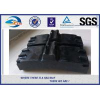 China Low Friction Train Wheel Composite Brake Block Cast Iron / Locomotive Brake Shoe wholesale