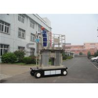China 8 Meter Self Propelled Scissor Working Platform With 800mm Extension Platform wholesale