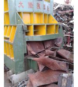 Buy cheap CS Scrap Steel Shearing Machine With Manual Belting / Shear Cutter Machine from wholesalers