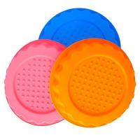 China round  shape silicone tray mold ,customized  silicone cake  mold ,flower silicon cake mold wholesale