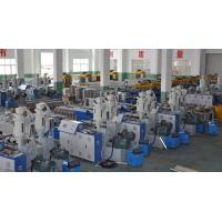 China Double Wall Corrugated Pipe Extrusion Line , Corrugated Pipe Production Equipment wholesale