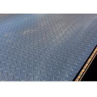 China Q235 Checkered Steel Plate 4.5mm * 1250mm Size Hot Rolled Technical wholesale