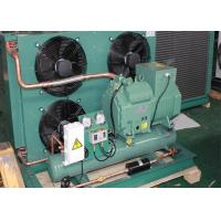 China Cold Storage Refrigeration Air Cooled Condensing Unit With 5HP Bitzer Compressor wholesale