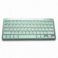 China Bluetooth Wireless Keyboard in Slim Design, with ABS Plastic, Supports All Bluetooth Product wholesale