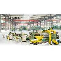 Quality High Speed Steel Coil Slitting Line 1400 Mm Semi Automatic Hydraulic Slitting Line for sale