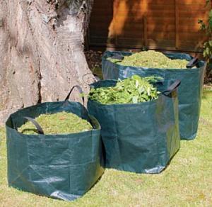 China self standing plastic yard,lawn and leaf bags / reusable garden waste sacks,big bag/wholesale bulk bags/Garden Waste Sac on sale