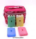 China OEM 220ml Bpa Free Hard Plastic Gel Cool Packs Fit & Fresh Ice Packs wholesale