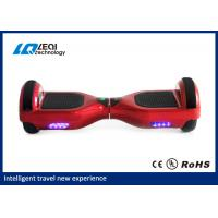 China Cool Self Balancing Scooter 2 Wheel Mini Smart Hoverboard 158w For Outdoor wholesale
