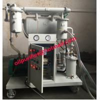 China Portable Dielectric Oil Processing, Insulating Oil Reclamation Machine Single-stage Vacuum wholesale