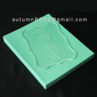 China acrylic wedding invitation wholesale
