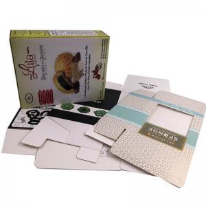 China Custom Cosmetic Packaging Cardboard Rigid Box/Gift Packing Box wholesale