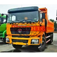 China 6x4 Utility Dump Truck 20 - 25 Tons Loading 3 Axle MAN F2000 F3000 Cabin on sale