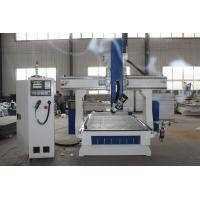 China Aluminum Wood 4 Axis Cnc Router Machine 9.0KW High Performance White And Blue wholesale