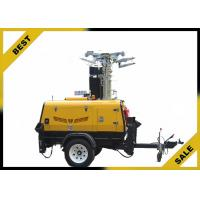China 3420L 2800W Led Light Tower Ip23 Protection Grade Watercooled Diesel Engine wholesale