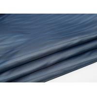 China Blue Polyester Lining Fabric , Polyester Fleece Fabric SGS Certification wholesale