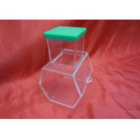 China Enviromental And Durable Clear Acrylic Storage Boxes With Lock wholesale