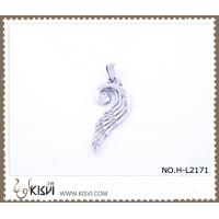 China 316 stainless steel pendant with wing shape H-L2171 wholesale