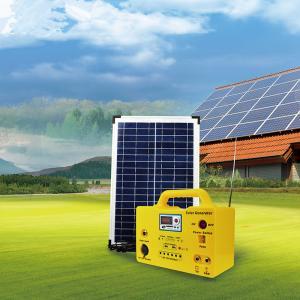 China Home Portable Solar Panel Light Kit DC 10w 20W 30w  Energy Power MP3 Radio Function wholesale