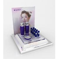 China Cosmetic Display Shelves Skin Care Products Display Pmma With Gloss Surface wholesale