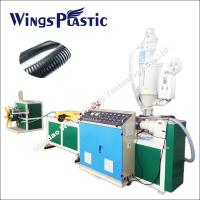 China Automotive Wiring Harness Pipe Production Line / Threading Corrugated Hose Machine on sale