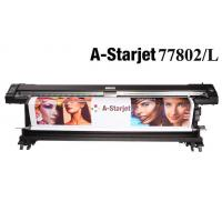 China 3.2m A-starjet 77802L double side printing eco solvent printer with DX7 heads wholesale