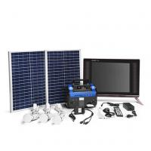 China Economical Solar Power Home Kits , Karaoke Function Solar Power For Domestic Use wholesale