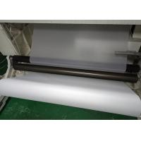 White Translucent Matte PET Film Surface Uniformity / Low Sub Degree For Printing