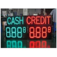China Multiple size waterproof LED Gas Station Sign with Rear / Front Access , Single / Double Side wholesale
