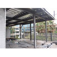 China C Section Prefab Steel House For Exhibition Hall Heat Insulation And Preservation wholesale