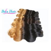 China Tangle Free Brazilian 20-22 inch Ombre Remy Hair Extensions For Dream Girl wholesale