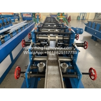 China Steel C Channel Purlin Roll Forming Machine wholesale