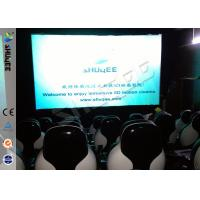 China Snow Effect 220V Mobile 5D Cinema System , Luxury 5D Mobile Seats wholesale
