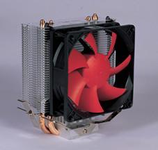 China Cpu Cooler Copper Pipe Heat Sink Aluminum Fin For Computer / CPU wholesale