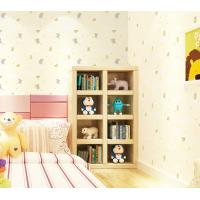 China Elephant Cartoon Household Children Room Wallpaper PVC Wallcovering Chinese Factory Modern on sale