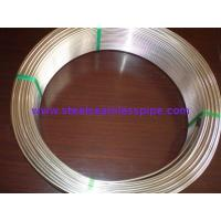 China Grade TP304/304L and TP316/316L Stainless Steel Seamless Coil Tube Pickled / Bright Annealed Surface ASME SA213 wholesale