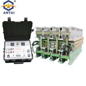 China Aluminum Alloy Conveyor Belt Vulcanizing Machine 300PSI Electric Heating on sale