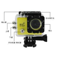 x4 digital zoom WiFi Action Camera with 170° HD wide - angle fish - eye lens