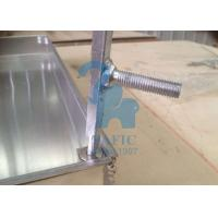 China Square Drain Grate Covers , Metal Driveway Drainage Grates 80mm Height wholesale